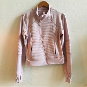 MONDETTA pink Moto jacket M knit